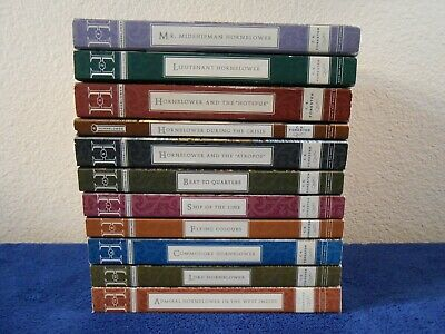 11 Books ~ Complete HORATIO HORNBLOWER Series ~ C. S. Forester