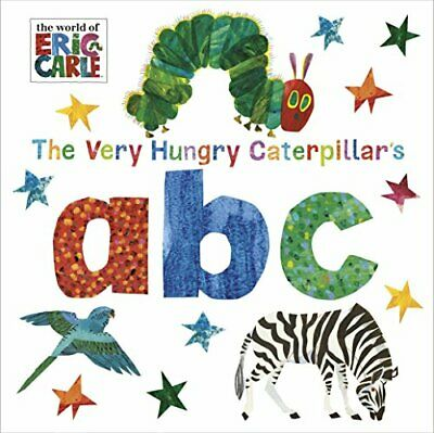 The Very Hungry Caterpillar's abc by Carle, Eric Book The Cheap Fast Free Post
