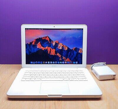 "Apple MacBook 13"" White / 2.4GHz Dual Core / UPGRADED 500GB Storage / OS-2016"