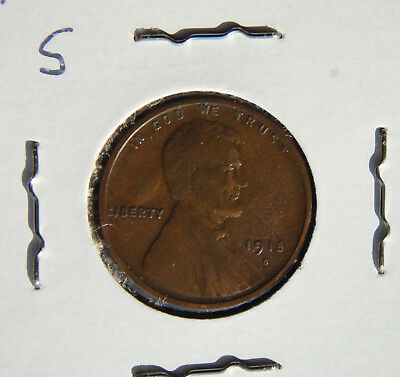 1915 S Lincoln Wheat Cent Penny Fine