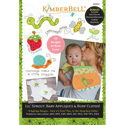 Kimberbell, Lil' Sprout: Baby Appliques & Burp Cloths