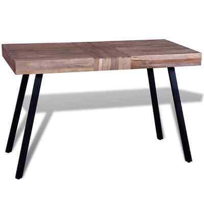 Vidaxl 3x Table Basse Hexagonal Teck Recyclé Salon Table D