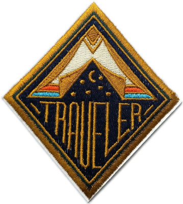 """Astral Traveler Alien Abduction Space UFO Embroidered Quality Iron On Patch 4"""""""