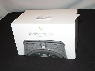 Google Daydream View - VR Headset Slate  New Sealed Retail Box (m146)