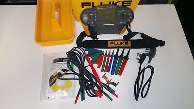 Fluke 1662 Multifunction Tester 17th Edition  with Remote probe Zero Adaptor