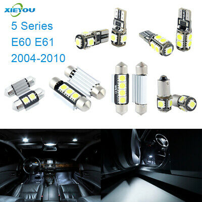 2f97c4f79f8 17pcs LED Canbus Interior Lights (2004-2010) E61 E60 Series 5 For Package