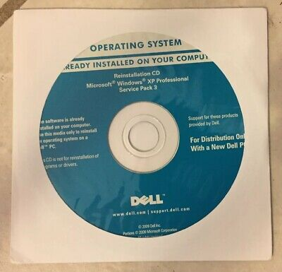 dell windows xp professional sp3 oem installation cd download
