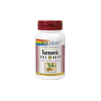 Solaray Turmeric One Daily 30 Capsulas