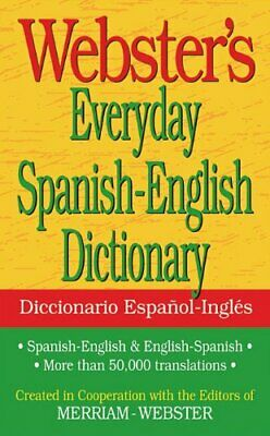 NEW - Webster's Everyday Spanish-English Dictionary (Spanish Edition)