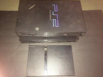 Bulk Lot of 3 Sony Playstation Ps2 consoles  for parts or repair