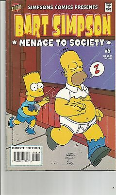 Bart Simpson Comics #   5 Very fine copy (VFN+) Bongo Comics MODERN AGE