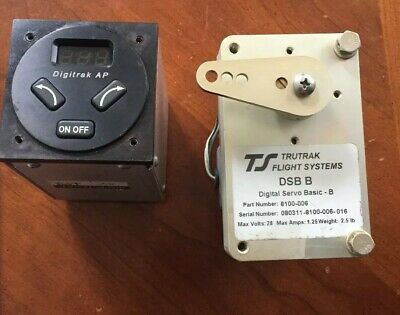 2-Axle Autopilot.  Truetrak Flight Systems/digitrak Ap.  Working When Removed!