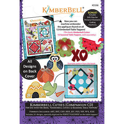 Kimberbell, Machine Embroidery Cd: Kimberbell Cuties Companion