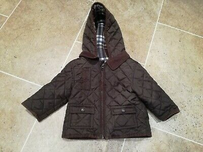 Baby Boys Quilted Style Jacket, 3-6 Months