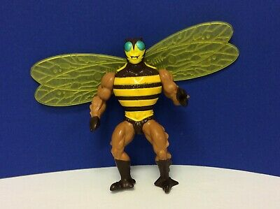 Vintage Motu Masters of the Universe BUZZOFF He-Man Action Figure Bee