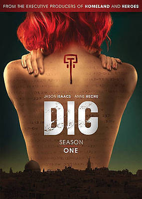 Dig: Complete Season 1 One (DVD, 2015, 3-Disc Set). Brand New. Free Shipping
