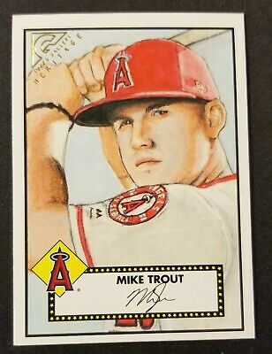 50% off 4-2018 TOPPS GALLERY HERITAGE INSERT SET SINGLES YOU U PICK Mike Trout+