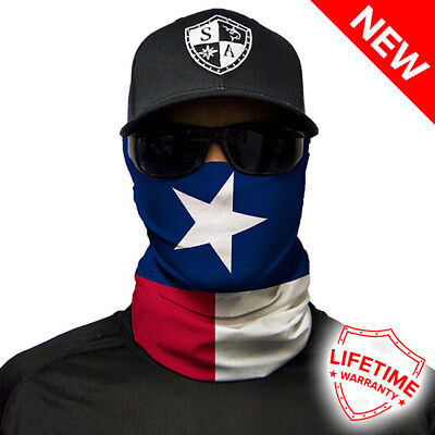 Salt Armour SA Face Shield (Texas Flag Pattern) - New in package