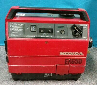 Honda EX650 Suitcase Silent Generator *Pick up only*