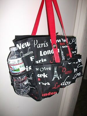 PARIS EIFFEL TOWER 3D Holographic Printed Clear Tote Bag