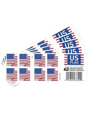 USPS US Flag 2018 Forever Stamps (Book of 100)