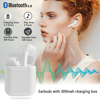 i11 Mini TWS Wireless Bluetooth 5.0 Stereo Earbuds Earphones Headphones Headset