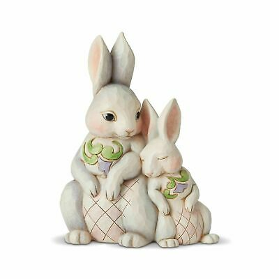 Jim Shore Easter - Forever My Honey Bunny - Snuggling Bunnies 6003624 2019 NEW
