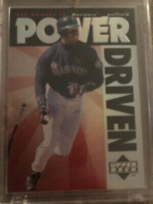 1996 Upper Deck Power Driven Insert #PD7 Ken Griffey Jr. Seattle Mariners