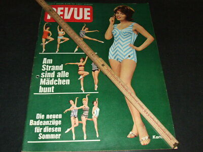 "Karin Dor … on cover … german magazine ""REVUE"" … 1962"