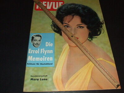 "Mara Lane … on cover … 1960 … german magazine ""REVUE"""