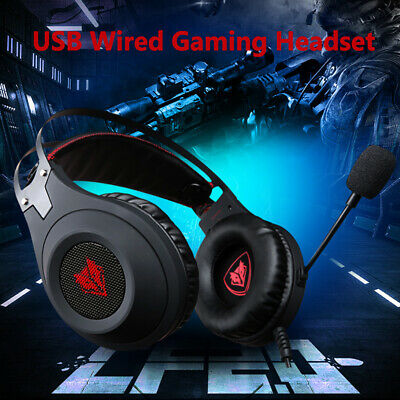 NUBWO N2 USB Headset Bass casque Gaming Headphone Headsets With Mic For PC Gamer