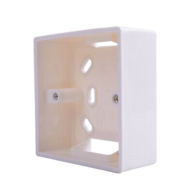 Wall Socket Back Box Surface-Mounting Single Gang For 86mm Faceplate