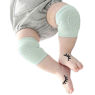 Baby Toddler Infant Kids Anti-slip Safety Cotton Crawling Elbow Knee Prote GOF
