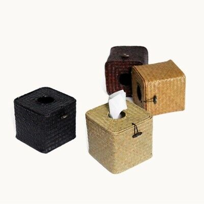 Natual Aeaweed Weave Tissue Box Paper Cover Case Napkin Holder #AM8