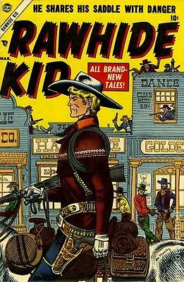 Rawhide Kid #1-151 On Dvd. Full Run. 1955-1979. Vintage Us Western Comics.