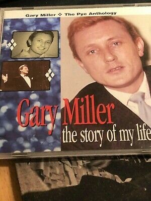 GARY MILLER  The Story Of My Life [PYE Anthology] [2xCD 2002] RARE/50's-60's-Pop