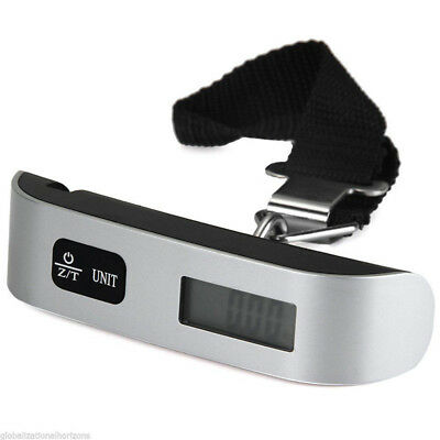 50kg-10g Electronic LCD Display Portable Luggage Travel Weight Hanging Scale Hot