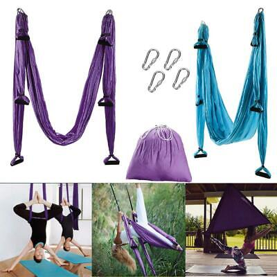 Full Set Aerial Yoga Swing Hammock Inversion Sling Trapeze Anti-gravity Flying