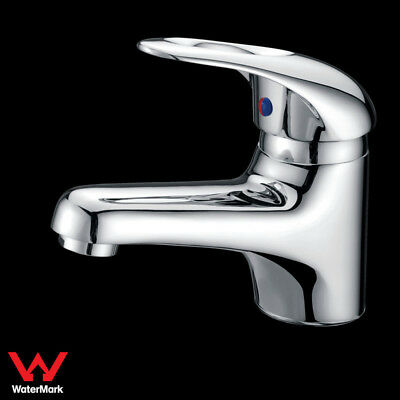WELS Bathroom Classical Vanity Basin Mixer Tap Faucet Handle with Hole Chrome