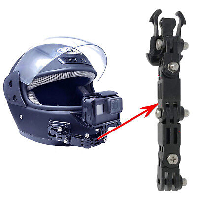 Motorcycle Full Face Helmet Chin Mount For GoPro Sony Action Action Camera