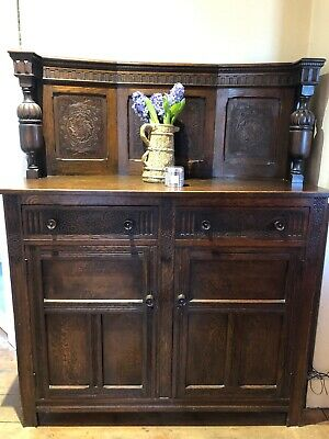 'Old Charm', Solid Oak, Welsh Dresser