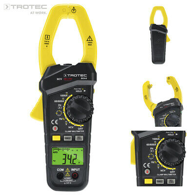 TROTEC Stroomtang BE44 | Multimetertang | Multimeter | Voltmeter Spanningsmeter