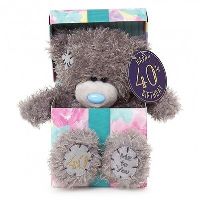 Me To You Tatty Teddy Bear Collectors 40th Birthday Pin Badge