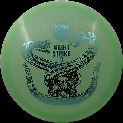 NIGHT STRIKE 2 discmania glow FD golf disc 175g