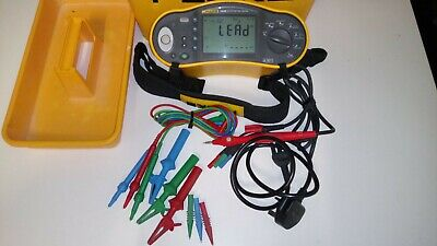 Fluke 1652b Multifunction Tester 17th Edition with Remote probe