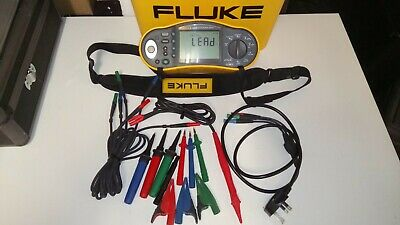 Fluke Multifunction 1653B Tester 17th Edition with remote probe