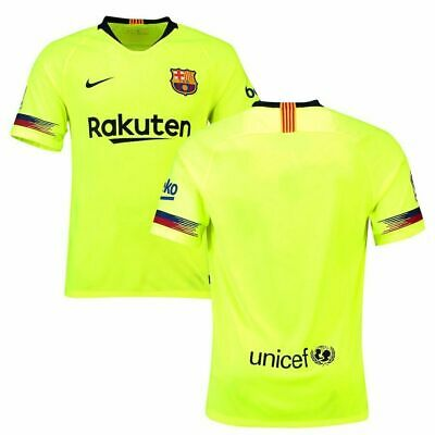 Barcelona Away Shirt 2018/19 Size S-XL Available, Brand New Shirt With Tags