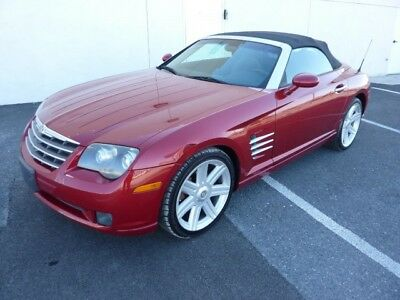 2005 Chrysler Crossfire  2005 CHRYSLER CROSSFIRE ROADSTER LIMITED GREAT FUN CAR ALLOY WHEELS 3.2 V6 XINT
