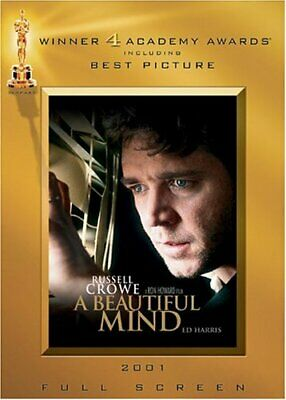A Beautiful Mind (full Screen Awards Edition) - Dvd (Like New)