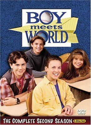 Boy Meets World - The Complete Second Season - DVD (Very Good)